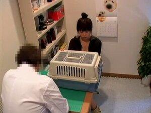 Dulce Jap clavado duro en cam de espía médico