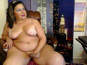 Señora de grasa Real de explorar y mostrar su