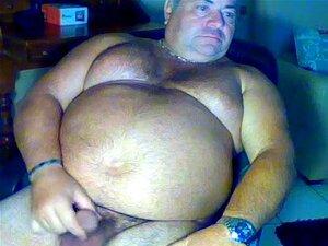 Gran oso gorda se masturba en webcam