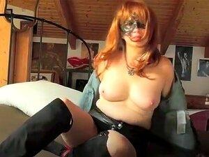 Loco video Amateur con Webcam, escenas de Bondage,